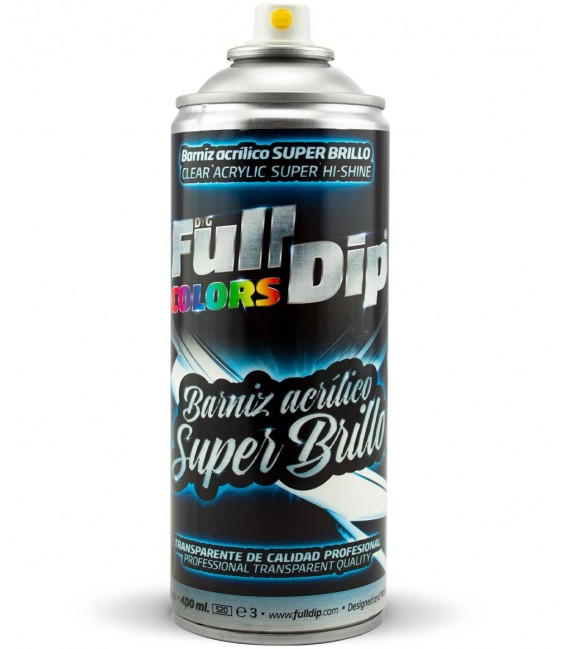 BARNIZ ACRÍLICO SUPER BRILLO 400ml