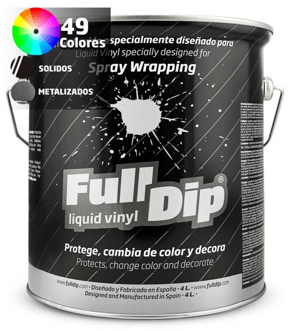 SOLID & METALLIC COLORS - FD SPRAYABLE 4L