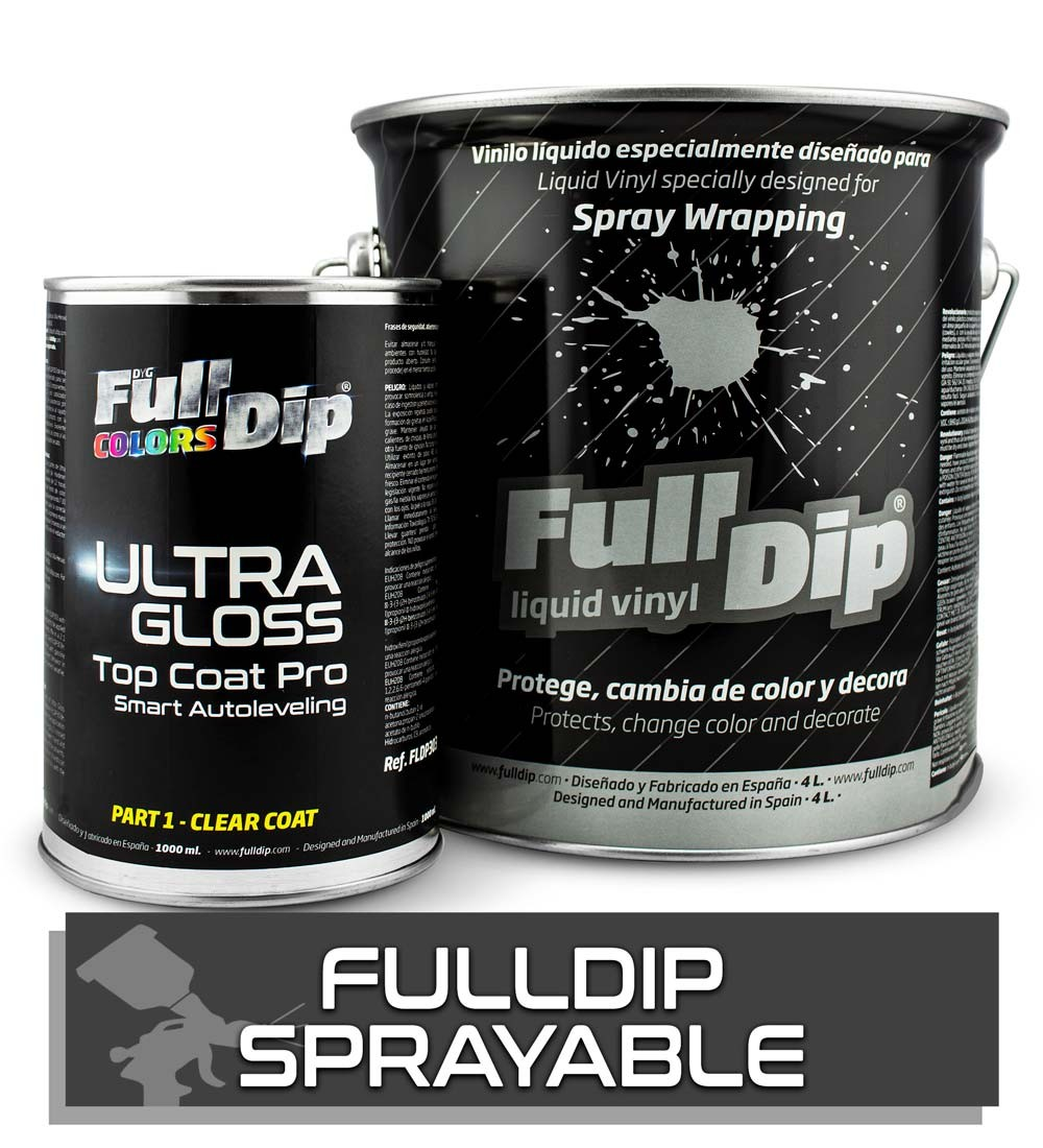 FD SPRAYABLE 4L & TOP COAT