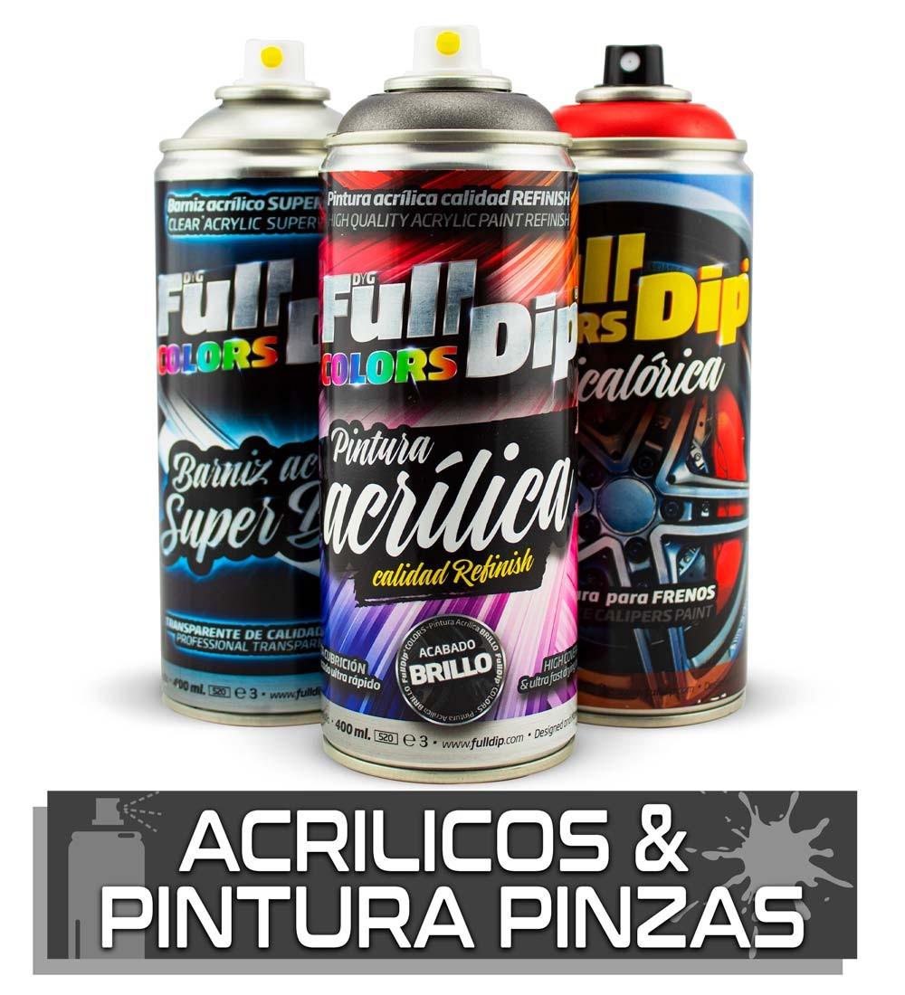 ACRÍLICOS & PINTURA PARA PINZAS DE FRENO